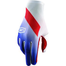 100% Celium Gloves blue